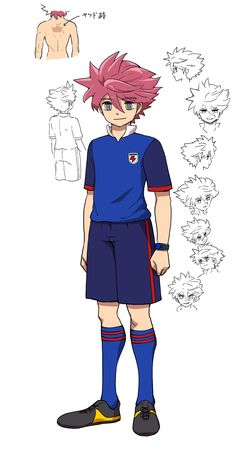 Basketball Art, Inazuma Eleven Go, One Piece Anime, Boy Art, Character Outfits, Pose Reference, Pokemon, Character Design, Hero