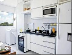 cozinha americana pequena - Pesquisa Google