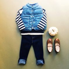 chambray and stripes and everything nice. #babyGap
