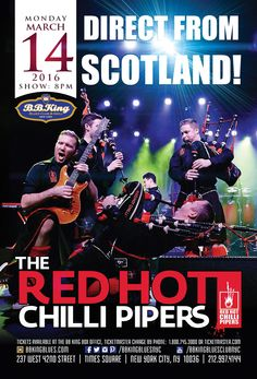 The Red Hot Chilli Pipers (3.14.16)