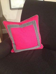 High Point Market Spring 2012-Lillian August Fuchsia Toss Pillow...love it!