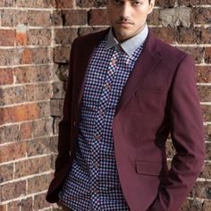 Men's Slim Fit Military Blazer - Maroon  $129.95 #Blazers&Jackets #www.sieteclothingco.com.au Clothing Co, Blazers For Men, Slim Man, Keep Warm, Blazer Jacket, Military, Suits, Elegant, Fitness