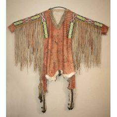 Upper Missouri war shirt, 1830