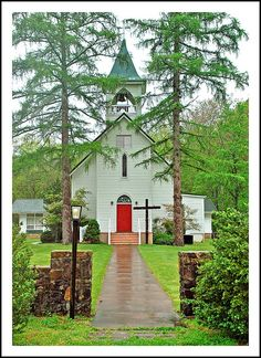 Grace Memorial Episcopal Church - Grottoes, Virginia The church sits at the west edge of the Blue Ridge Mountains