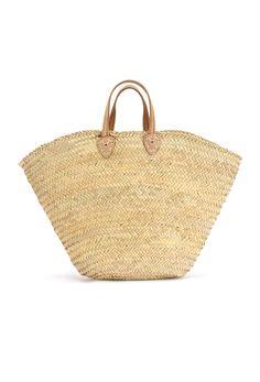 Woven Basket Beach Bag 1 | Gabrielle | Accessories | Beach Flamingo
