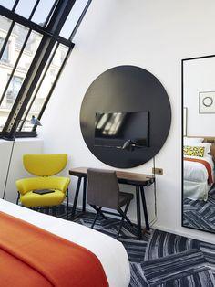 Обновленный Hotel du Ministere в Париже   Пуфик - блог о дизайне интерьера
