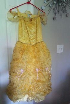 fd9430cea ~Disney Store Authentic~ Disney Parks Costume Skirt Belle Tutu for Girls!  Disney Parks Authentic - Infants & Kids Size L lbs yrs Smoke Free Home!