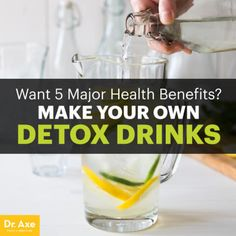 Detox drinks - Dr. Axe
