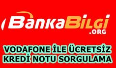 Vodafone ile ücretsiz kredi notunuzu nasıl öğreneceğinizi anlattık. Makale için : http://www.bankabilgi.org/vodafone-kredinotu-411.html bağlantıyı ziyaret edebilirsiniz. #kredinotu #kredinotusorgulama