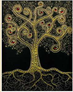 Tree of Life - This artist lives in Austin. See webpage: www.sacredillumination.com