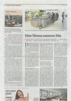 "Artikel in ""diePresse am Sonntag"" Mensa, Pizzeria, Passion, Sunday, Food And Drinks"