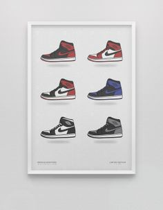 Love Kicks? Check out these Illustrated Sneaker Posters! Now available at kickposters.bigcartel.com