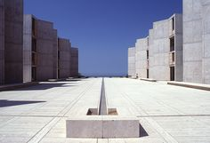 Louis Kahn Salk Institute, La Jolla, Californie (1959-65)