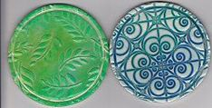 Polymer Clay Coasters! artist Barbara Poland-Waters