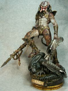 Death Warrior by Narin, painted by predator master-painter, Joe Dunaway. One day I'll get him to paint mine!