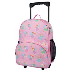 Children's Little Fairies Rolling Luggage - Available now on Becky & Lolo