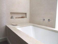 1000 images about badkamer on pinterest met outdoor flooring and bathroom - Muur niche ...