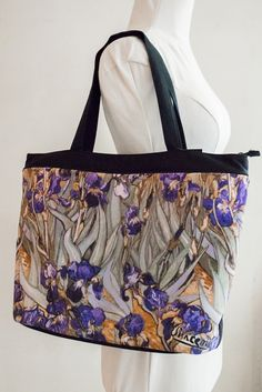 This handbag, available at our Museum Store, features an image from Van Gogh,