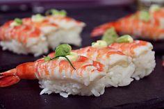 Makoto Supperclub - nigiri sushi (raw fish over pressed rice)