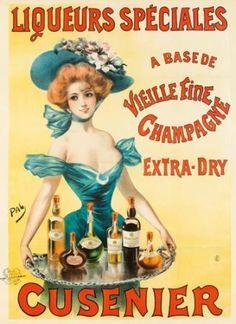 Cusenier / Liqueurs Speciales. ca. 1898  PAL (Jean de Paleologue, 1860-1942)