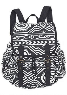 2603066b2499 Vintage Owl Pattern Geometry Travel Backpack only  29.99 Aztec Backpacks