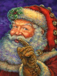 Santa Claus... so be good for heaven's sake.  Christmas is for children.