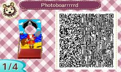 ACNL QR CODE-Pirate Standee