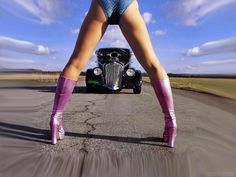 What Else?......Legs. Oh..and a car.