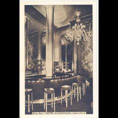 America's Haunted Restaurants and Hotels: Algonquin Hotel; New York, NY