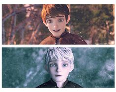 The moment you realize you had a crush on a guy for months literally because he looks like Jack Frost.... -.-