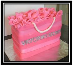 VS cake - great for bachelorette party