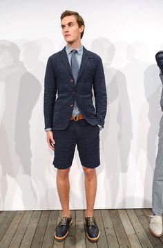J Crew coleccion primavera verano 2014 New York Fashion Week J Crew, Gq, Suit Jacket, Suits, Jackets, Fashion, New York City, Spring Summer, Down Jackets