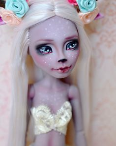 https://flic.kr/p/wpkCja | Magic Deer | OOAK Custom Monster High doll by UNNiEDOLLS Marisol Coxi