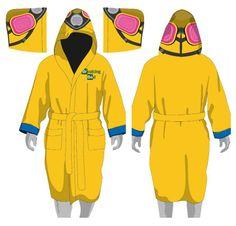 Breaking Bad Fleece Bathrobe Cook Suit - The Movie Store
