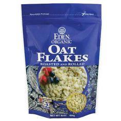 EDEN Oat Flakes 16 Ounce Pouches Pack of 6 *** Check out the image by visiting the link. (This is an affiliate link and I receive a commission for the sales) #Cereals