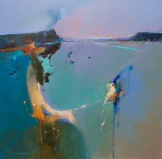 Peter Wileman, Abstract Landscape, Abstract Art, Seascape Paintings, Oil Paintings, Landscape Pictures, Contemporary Paintings, Painting Inspiration, Creative Art