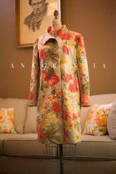 Anagrassia Floral Coat