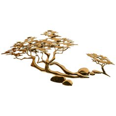 Signed Bijan Asia Modern Wall Sculpture | From a unique collection of antique and modern wall-mounted sculptures at…