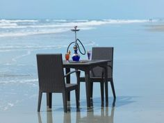 Private beach dining at The Zuri White Sands, Goa, India