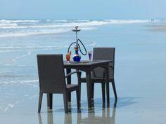 Private beach dining at The Zuri White Sands, Goa, India