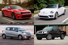Top Budget Vehicles - Provided by MotorTrend