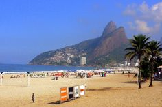 pictures of beaches in brazil | Ipanema Beach – Brazil, South America | Places you have to visit