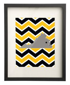 Randolph Macon College Virginia State Map by PaperFrecklesCampus, $15.00 Use: PIN10 for 10% OFF!