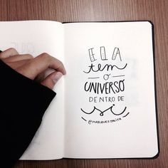 Resultado de imagem para legendas tumblr Wreck This Journal, Lettering Tutorial, Creative Journal, Some Quotes, Bullet Journal Inspiration, Brush Lettering, Some Words, Isfj, Ravenclaw