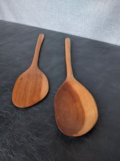 shipping included Wood Spatula Rustic OOAK Hand-Carved Cedar Wood Stout Spatula by Zen Spoonmaster of Hungry Holler Wooden Spatula