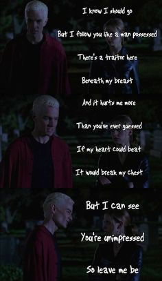 Once More With Feeling, one of my favorite Buffy episodes.