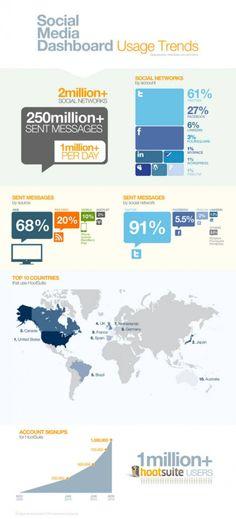 Infographics Social Media Dashboard