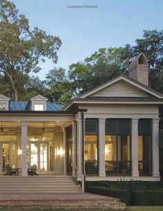 Beautiful Back Patio Perfect screen porch | Coming Home: The Southern Vernacular House @ Pin Your Home