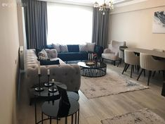 Bu Ev Çok Çaba Göstermeden Tarz Sahibi ve Şık - Modern Interior, Modern Decor, Interior Design, Modern Furniture, Living Room Designs, Living Room Decor, Living Spaces, Geometric Form, Geometric Patterns