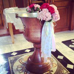 Κολυμπήθρα Βάπτισης Christening, Vase, Home Decor, Fiestas, Decoration Home, Room Decor, Jars, Vases, Interior Decorating